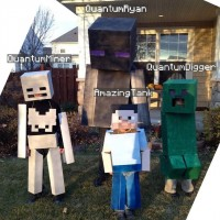 Minecraft Halloween 2012