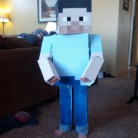 MinecraftHalloweenSteve